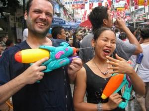 Thailandia: il festival dell'acqua