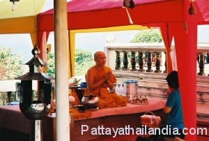 Monaco buddista Thailandia