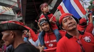 Manifestanti a Bangkok