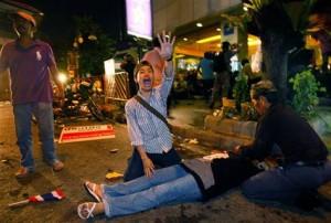 Esplosione a Bangkok Thailandia