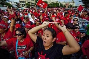 camicie rosse Bangkok