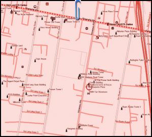 Mappa indirizzo Ambasciata Italia Bangkok