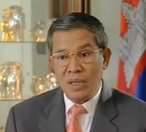 Ministro Cambogia Hun-Sen
