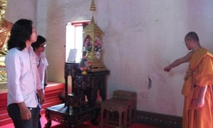 Danni terremoto tempio Thailandia: Wat Phrathat Chae Haeng