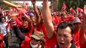 Thailandia - camicie rosse Bangkok