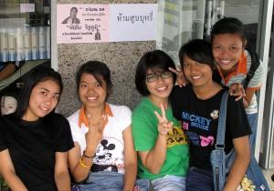 giovani ragazze thai