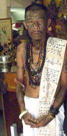 Maestro magia nera in Thailandia