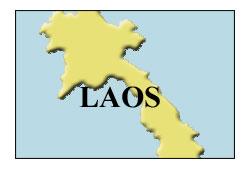 mappa Laos