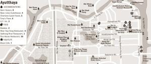Ayutthaya mappa città