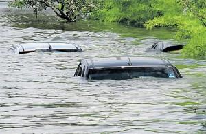 Inondazioni Thailandia a Pathum Thani