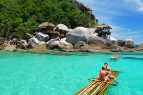 Mare  Koh Tao-Thailandia