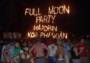 Thailandia: Full Moon Party Haad Rin Koh Phangan