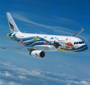 Aeroplano Bangkok Airways - Thailandia