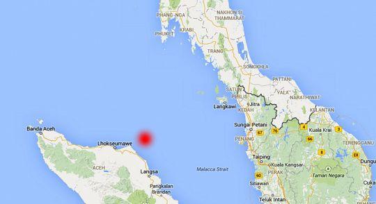mappa terremoto indonesia