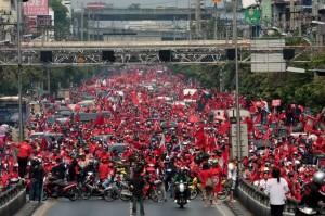 Proteste a Bangkok Thailandia
