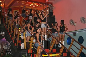 walking street  Pattaya Insomnia Club