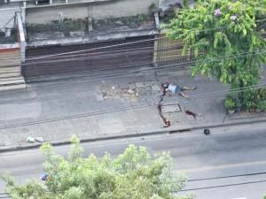 Situazione critica a Bankok