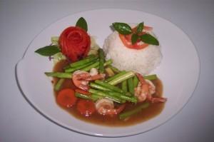 Tipico piatto Thai