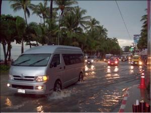 Acqua alta a Pattaya