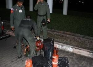 Bomba a Bangkok