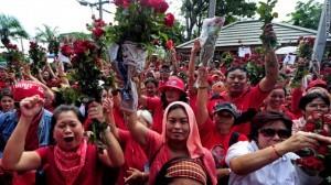 Camicie rosse Bangkok settembre 2010