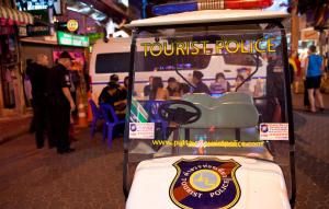 Polizia turistica Pattaya