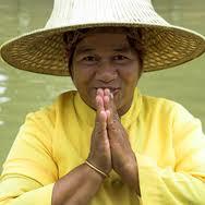 Saluto tradizionale thailandese