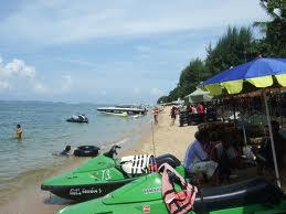 moto d'acqua spiaggia pattaya
