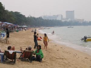 Spiaggia mare Pattaya