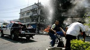 Esplosione bomba Thailandia Narathiwat