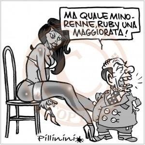 Berlusconi ruby minorenne