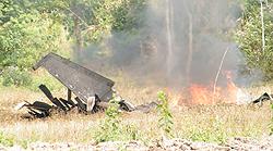 Incidente Thailandia caccia F16 precipita al suolo