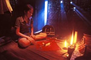 Thailandia ragazza superstiziosa
