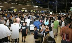 check-in aeroporto Bangkok 2011