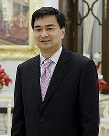 Primo Ministro Thailandia Abhisit Vejjajiva