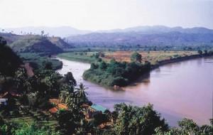 Rive fiume Mekong
