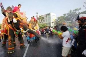 Thailandia Songkran festival