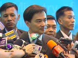 Bangkok, Abhisit Vejjajiva elezioni 2011 leader del Partito Democratico in Thailandia