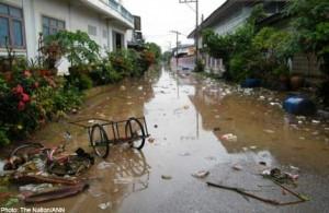 Inquinamento acque: preoccupazioni salute in Thailandia, 21 ottobre 2011