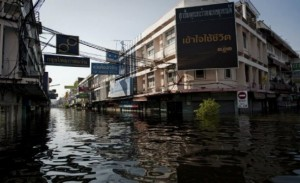 inondazione nord Bangkok 22 ottobre 2011