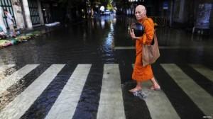 inondazioni centro Bangkok