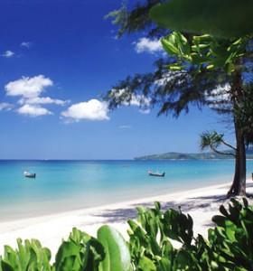 Spiaggia isola di Phuket Thailandia