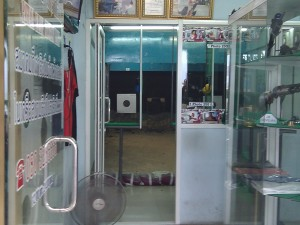 Poligono di tiro a Pattaya - Thailandia