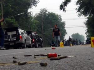 Foto e video attentato sud Thailandia 28 luglio 2012