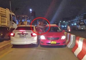 tassisti di Bangkok