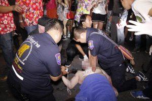 morto in walking street thailandia
