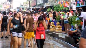 Songkran pattaya thailandia