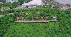 Pattaya veduta dall alto