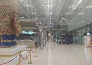 aeroporto bangkok deserto convid 19